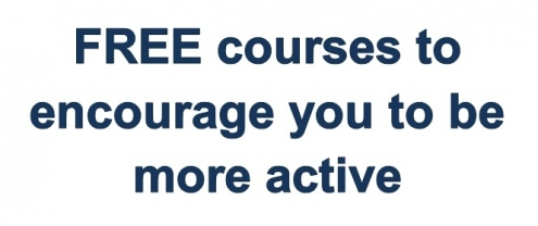 Free courses to encourage you to be more active